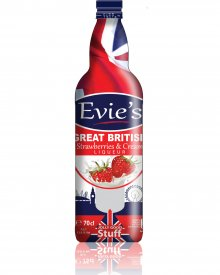 Evie's Strawberry and Cream Liqueur